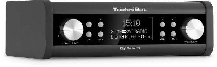 Foto van TechniSat DigitRadio 20 DAB radio