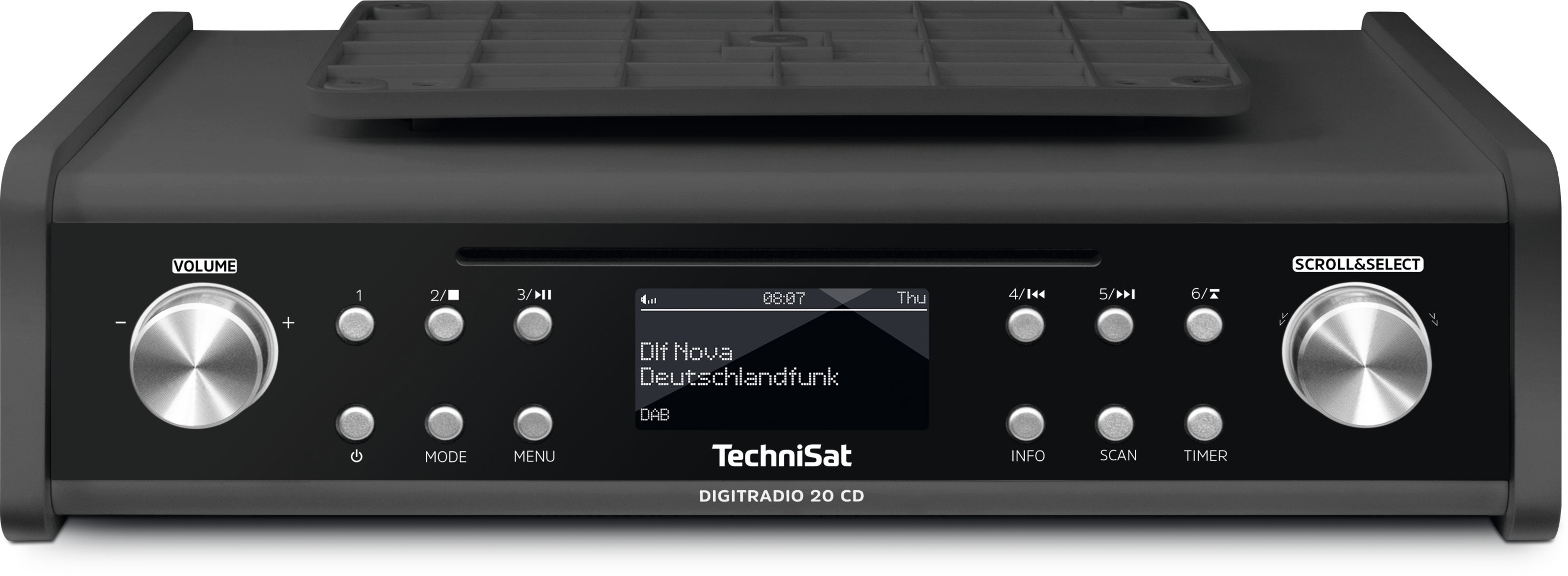 Korting TechniSat DigitRadio 20 CD dab radio