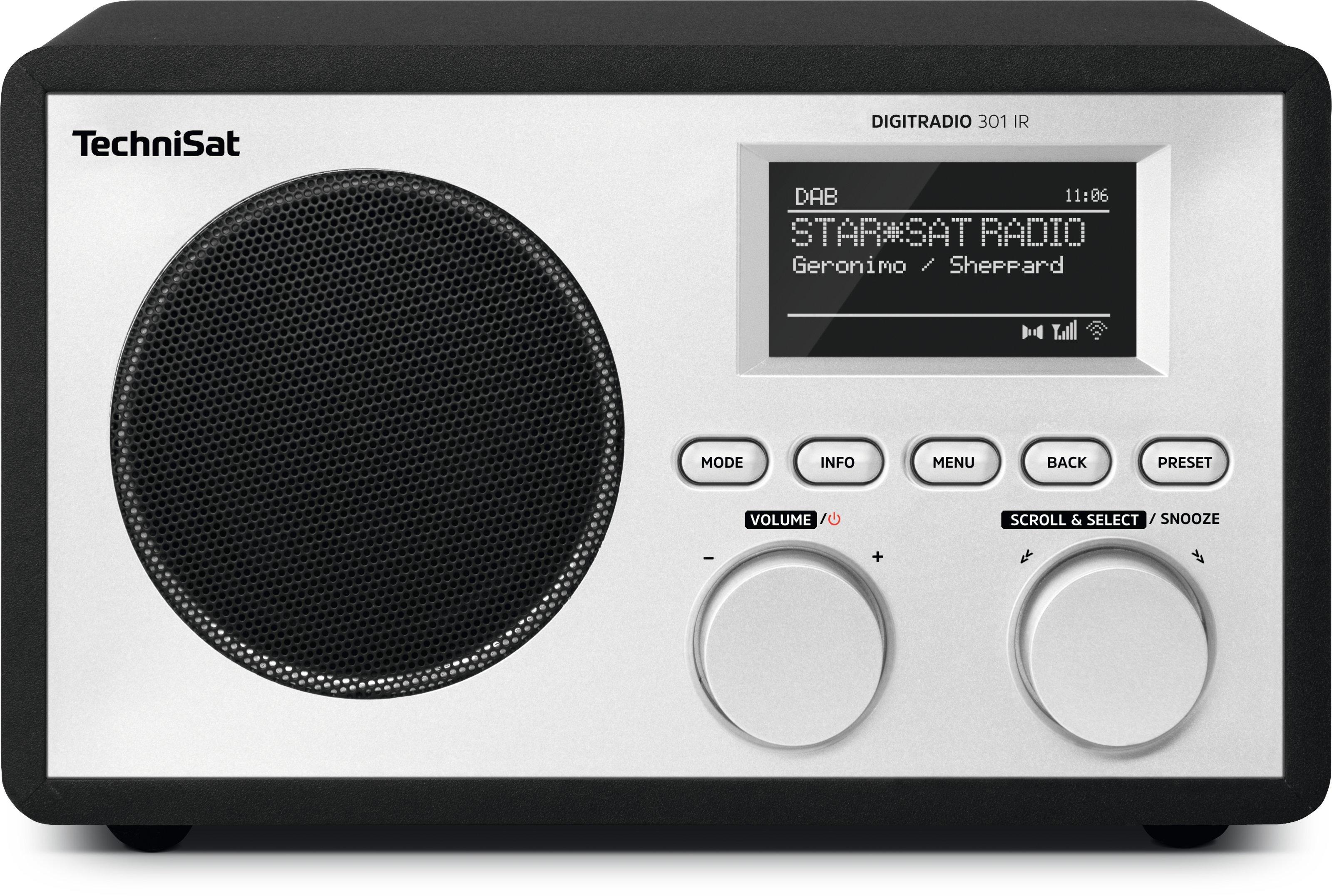 Foto van TechniSat DigitRadio 301 IR DAB radio