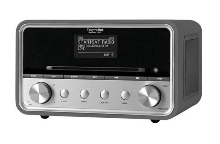 Foto van TechniSat DigitRadio 580 DAB radio