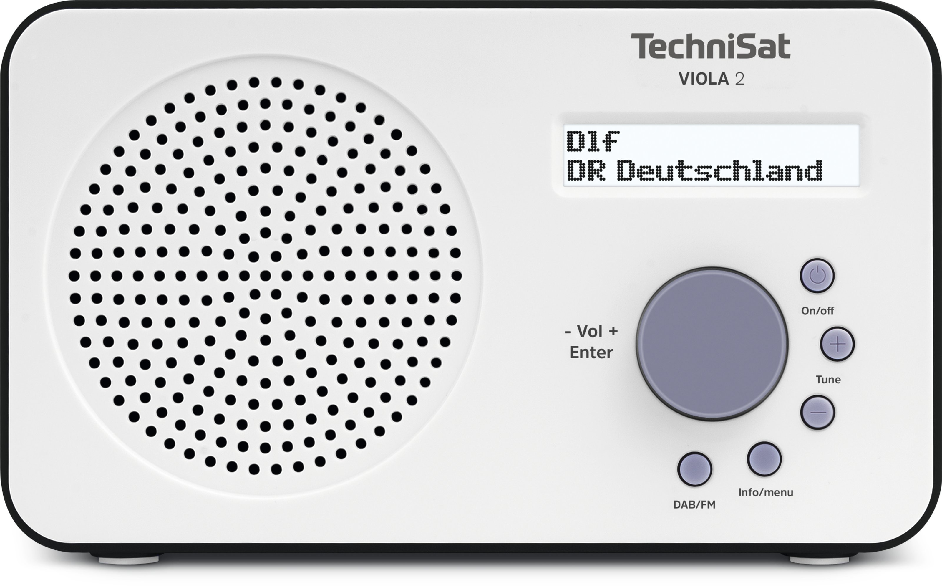 TechniSat Viola 2 DAB radio Wit