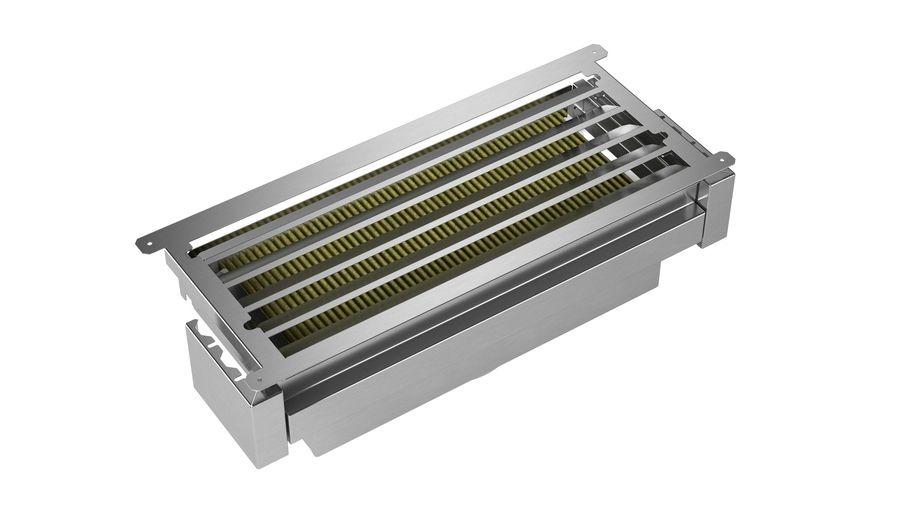 Bosch DWZ1IX1C6 Afzuigkap geïntegreerd Zilver