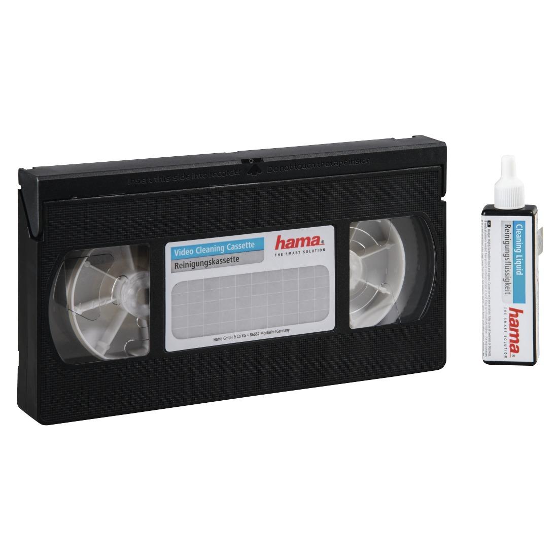 Op Home Media Centre is alles over algemeen te vinden: waaronder expert en specifiek Hama Reinigingscassette VHS/S-VHS Audio accessoire