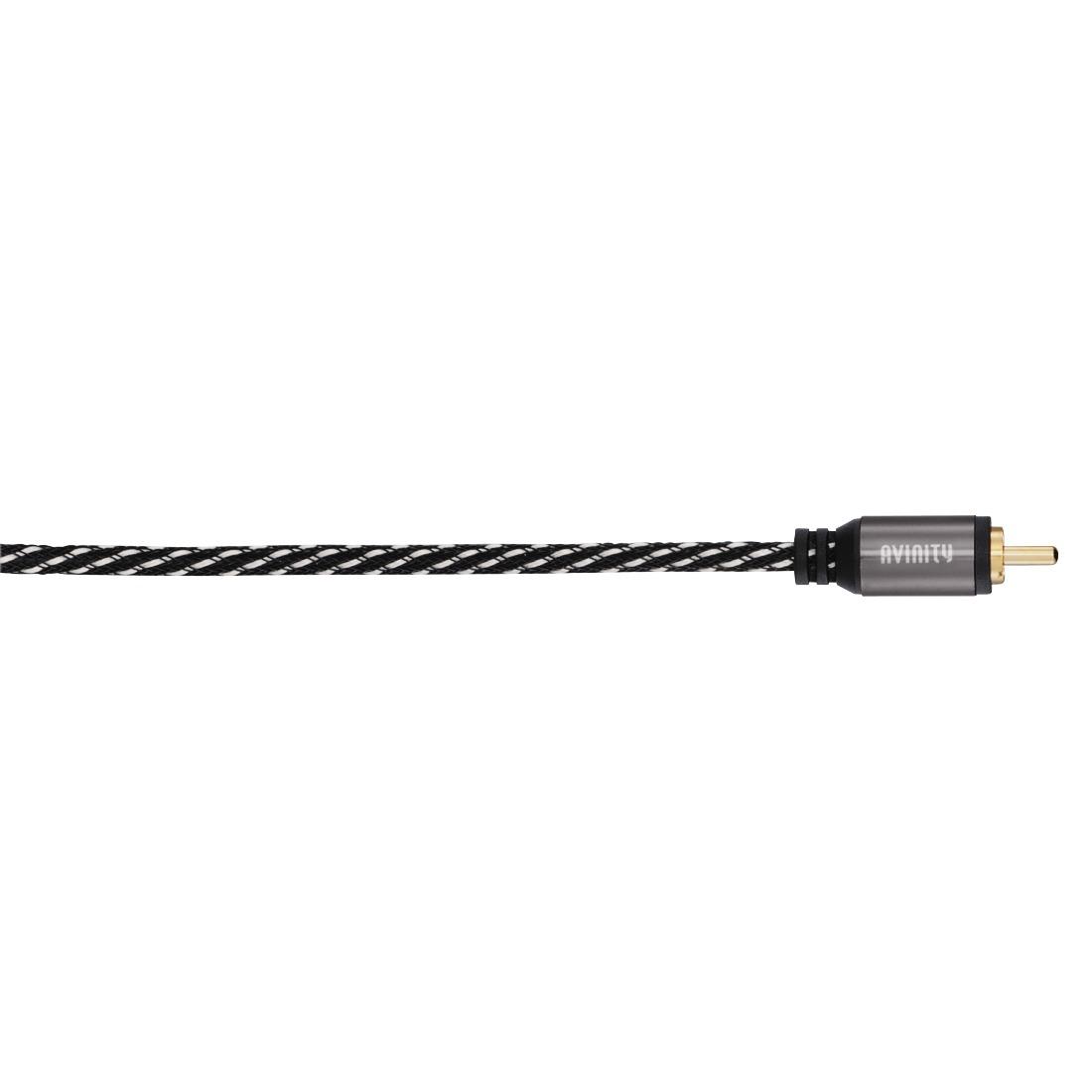 Korting Avinity Classic Subwoofer kabel plus Y adapter 5m Klasse 2 Subwoofer kabel