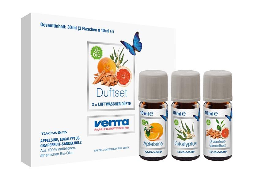 Korting Venta Bio Geurset Nr.1 3x10 ml vak klimaat accessoire