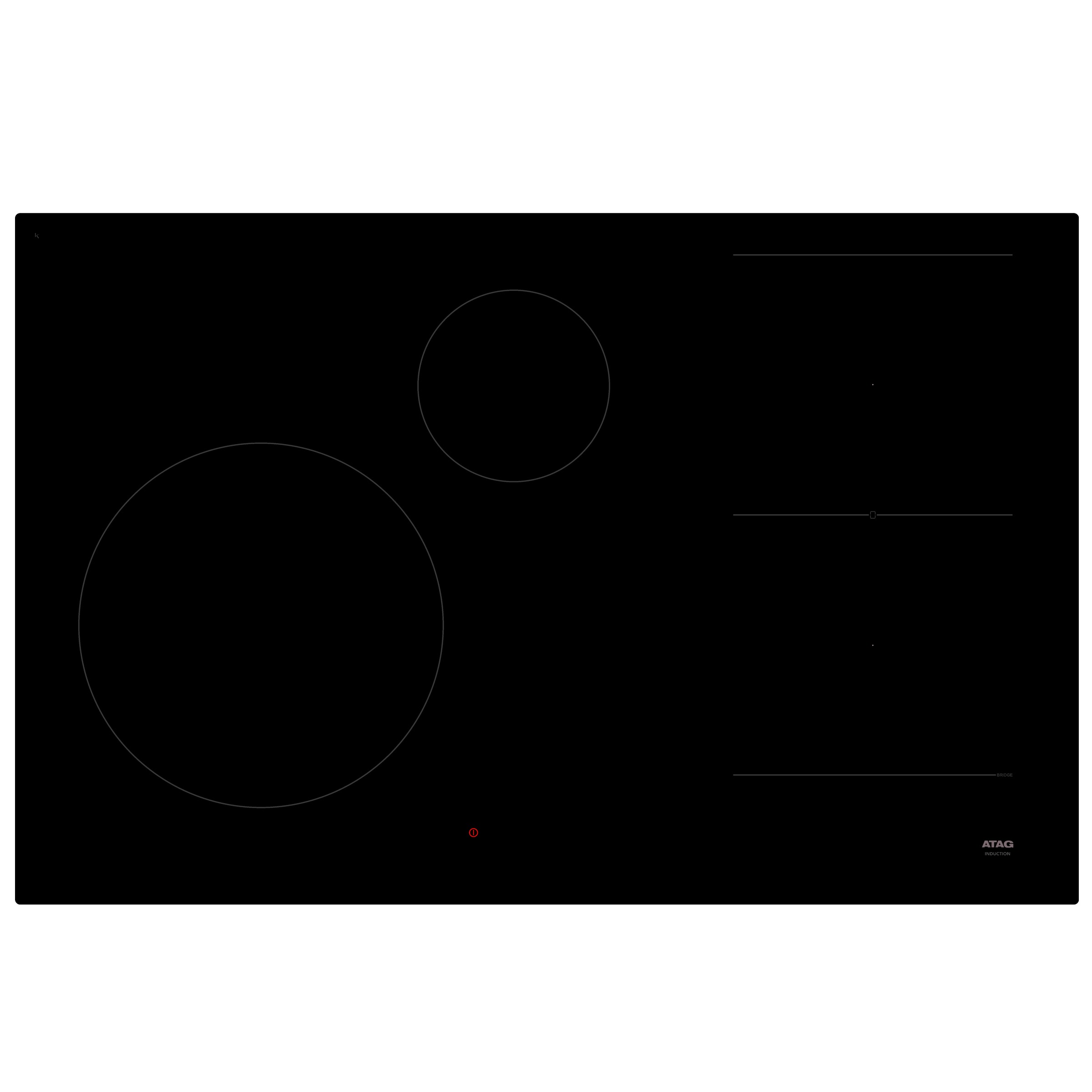 Atag HI08471EV inductie inbouwkookplaat