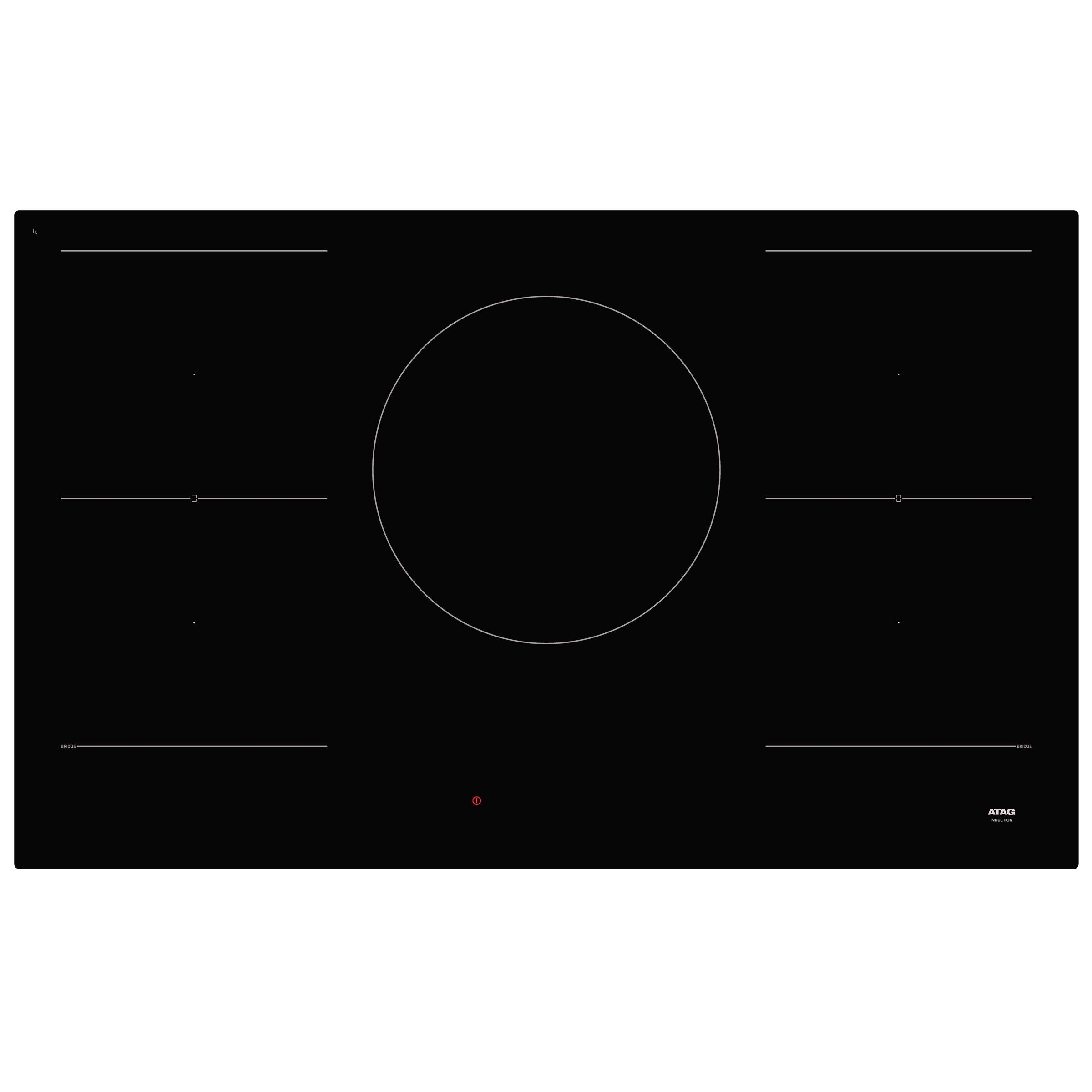 Atag HI09571EV inductie inbouwkookplaat
