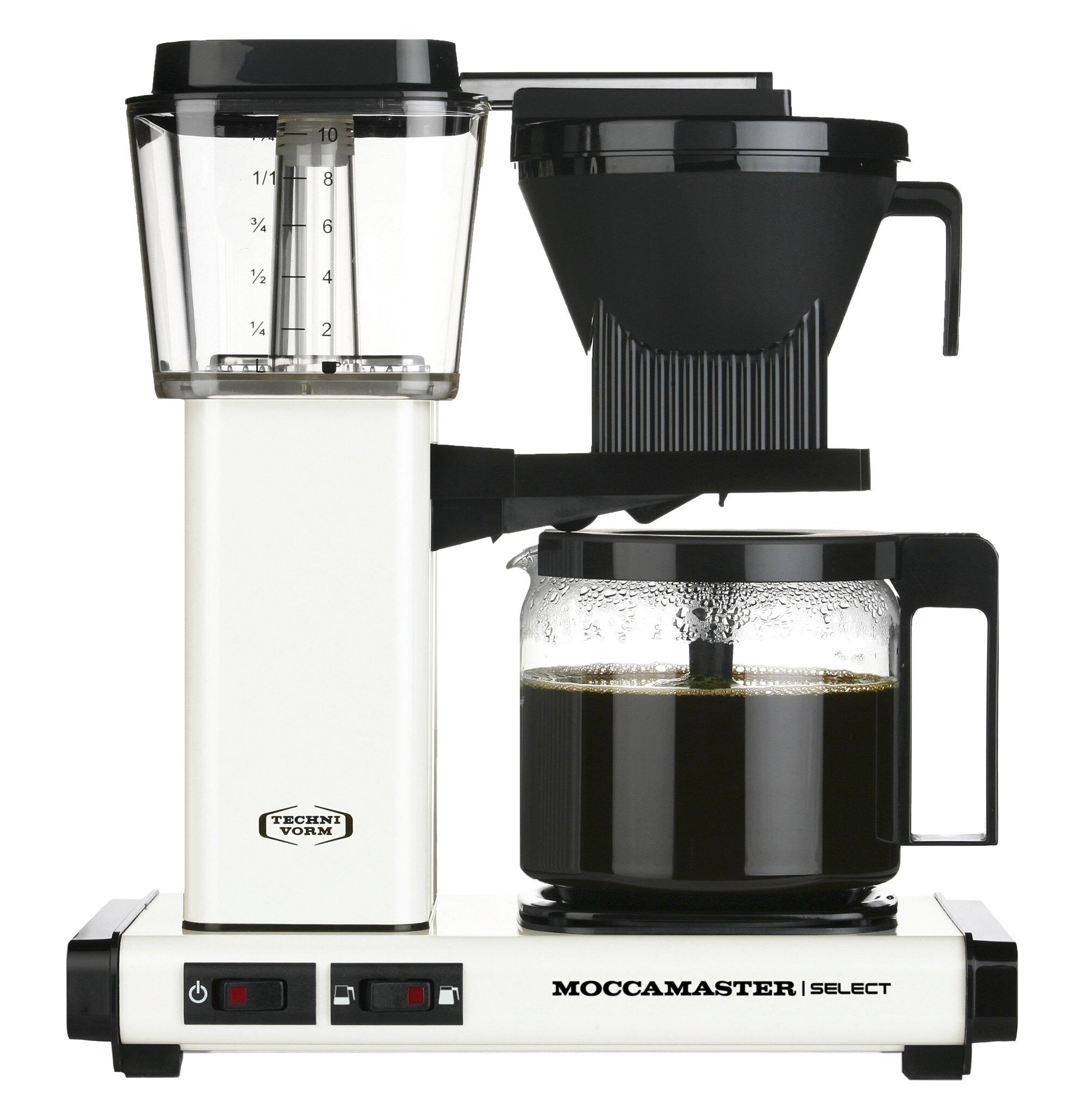 Moccamaster koffiefilter apparaat KBG SELECT creme