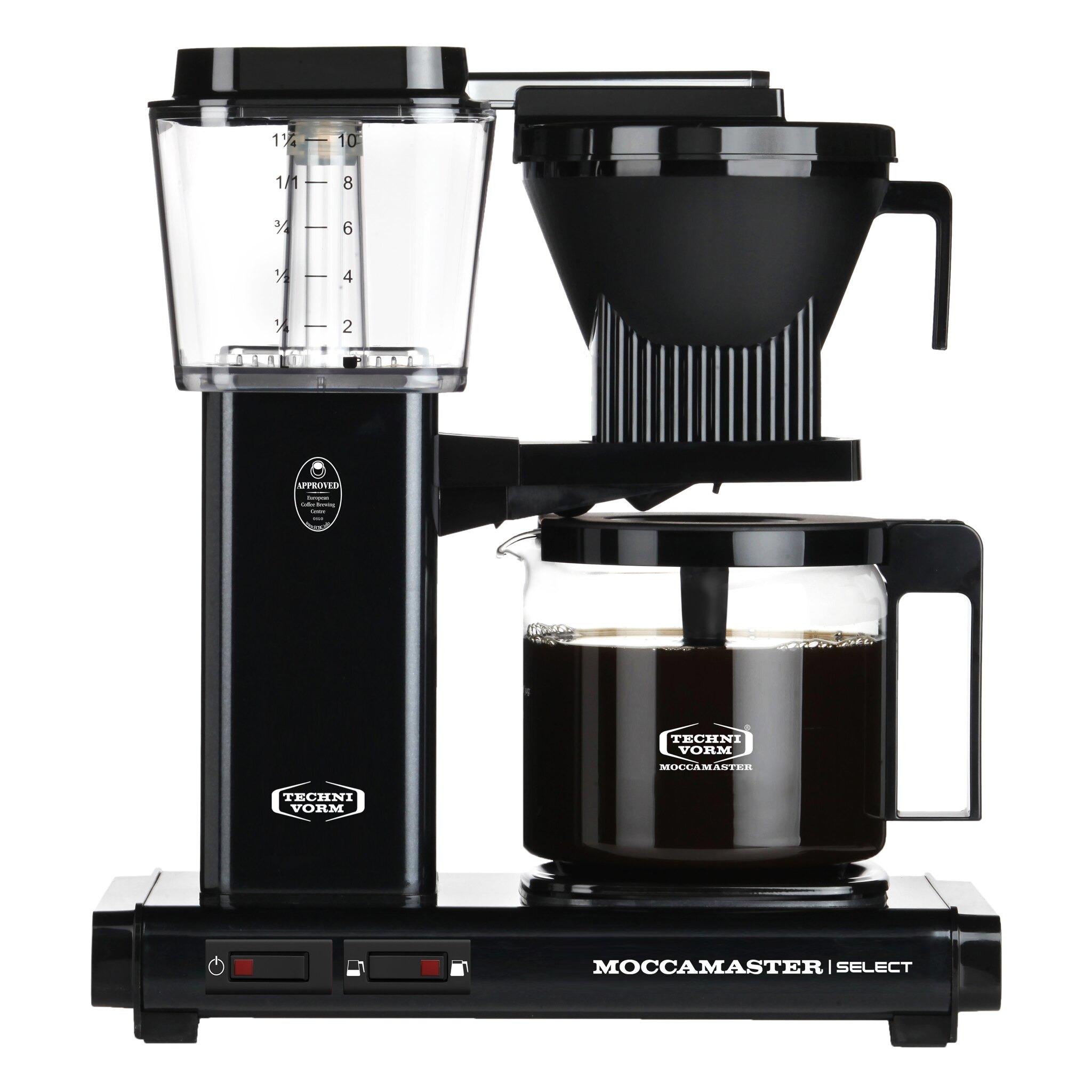 Moccamaster koffiefilter apparaat KBG SELECT mat zwart kopen
