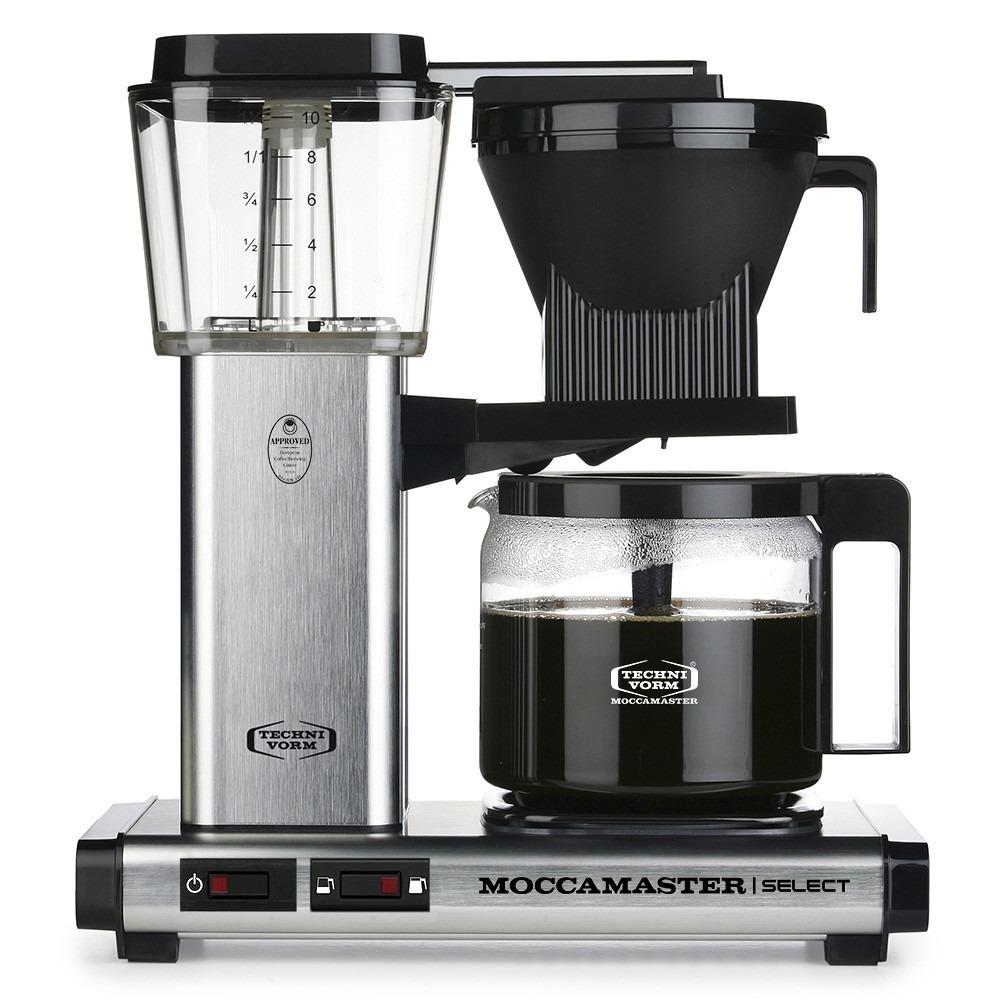 Moccamaster koffiefilter apparaat KBG SELECT mat rvs