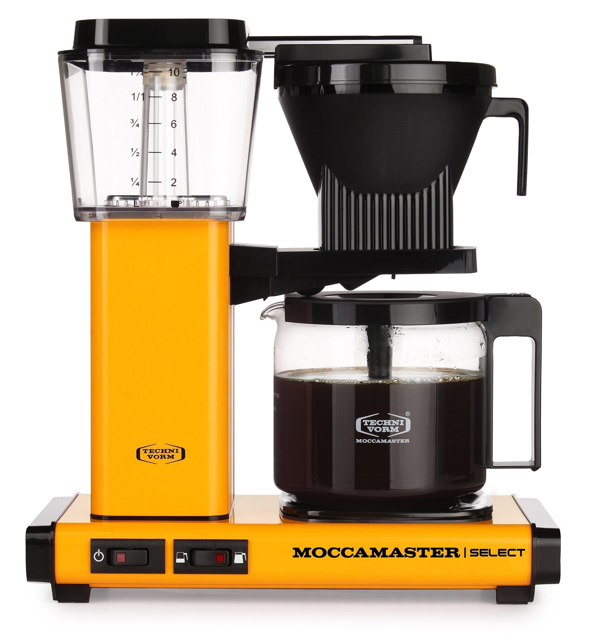 Moccamaster koffiefilter apparaat KBG SELECT geelkoper kopen