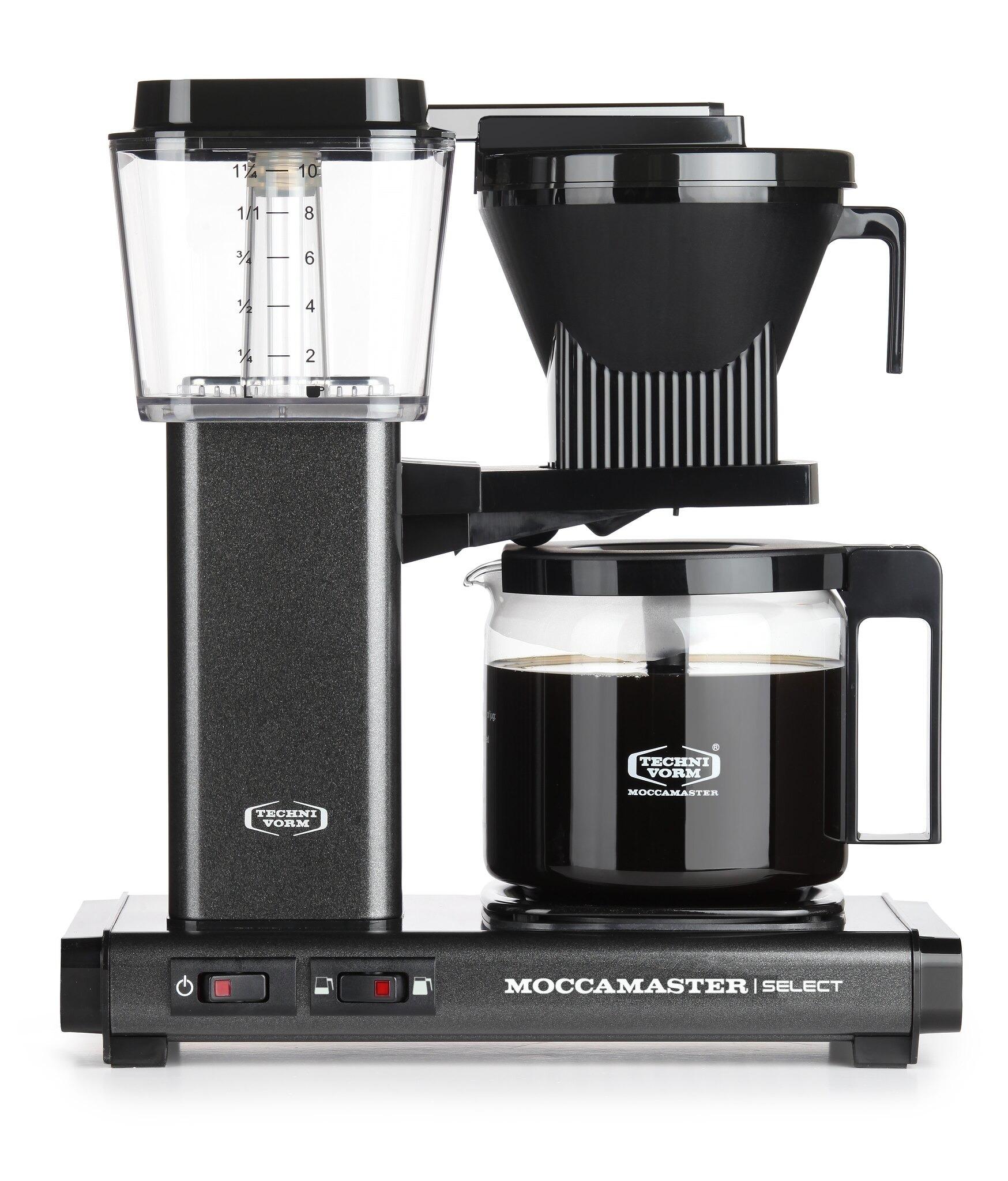 Moccamaster koffiefilter apparaat KBG SELECT antraciet kopen