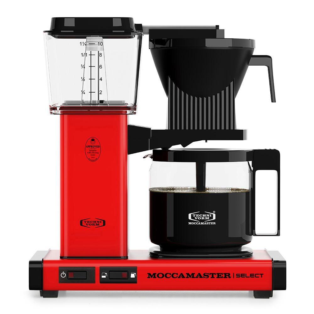 Moccamaster koffiefilter apparaat KBG SELECT rood kopen