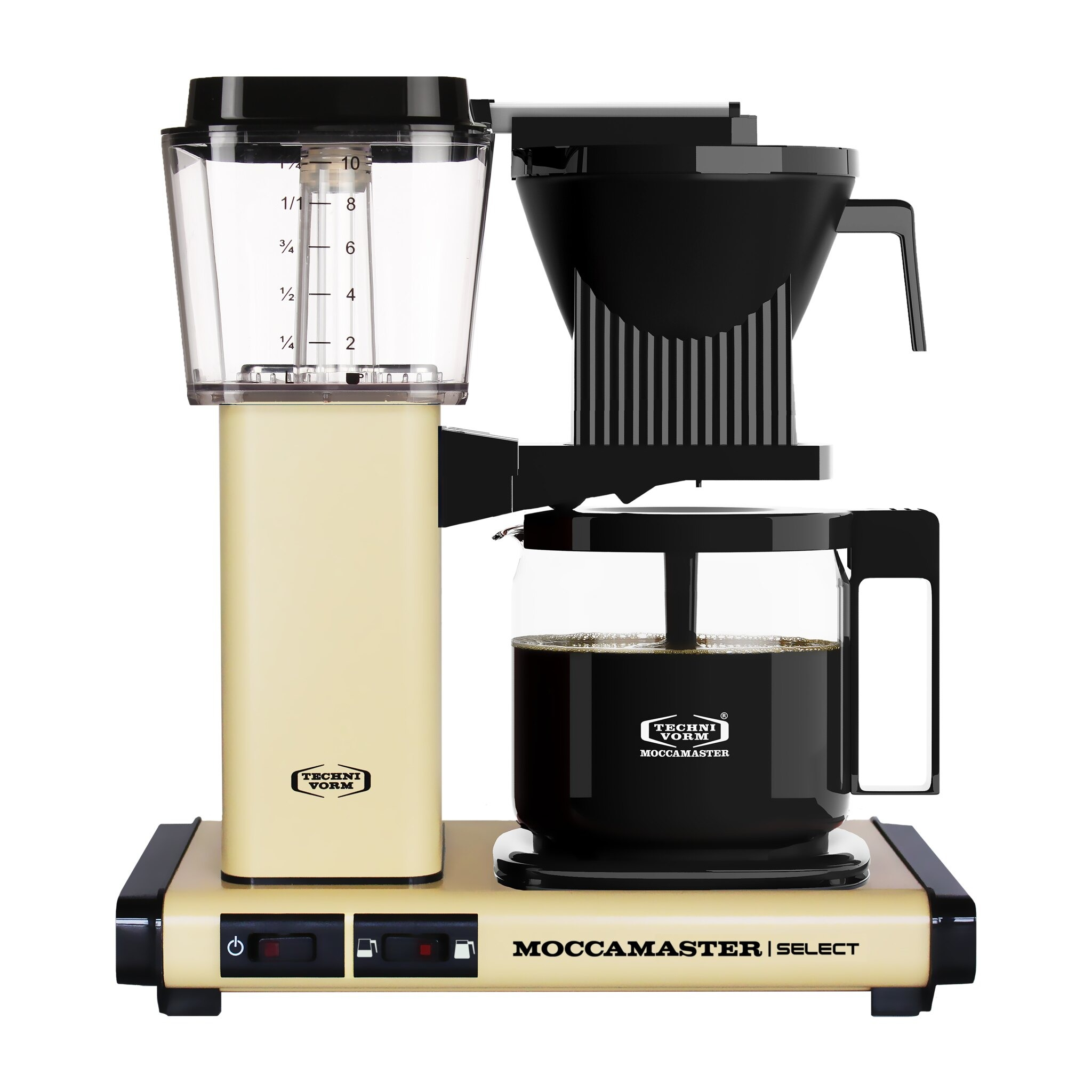 Moccamaster koffiefilter apparaat KBG SELECT pastelgeel