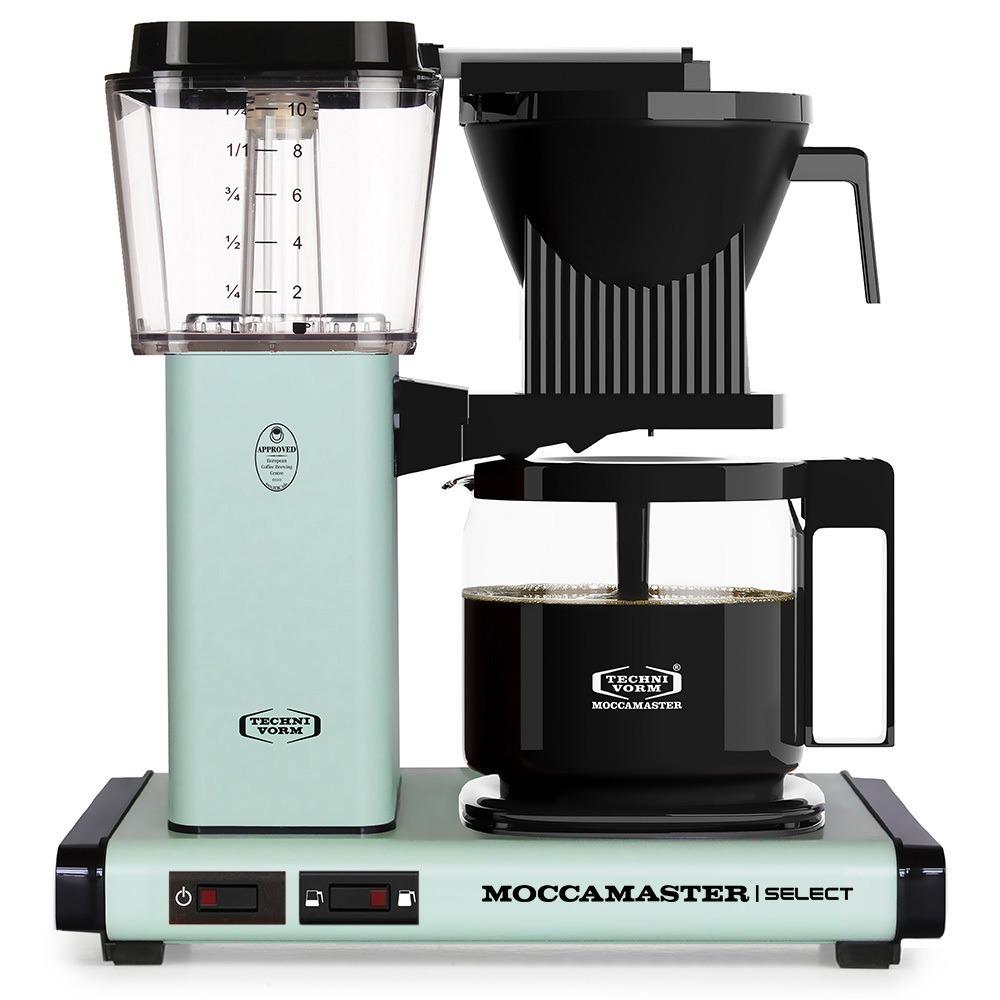 Moccamaster koffiefilter apparaat KBG SELECT pastelgroen