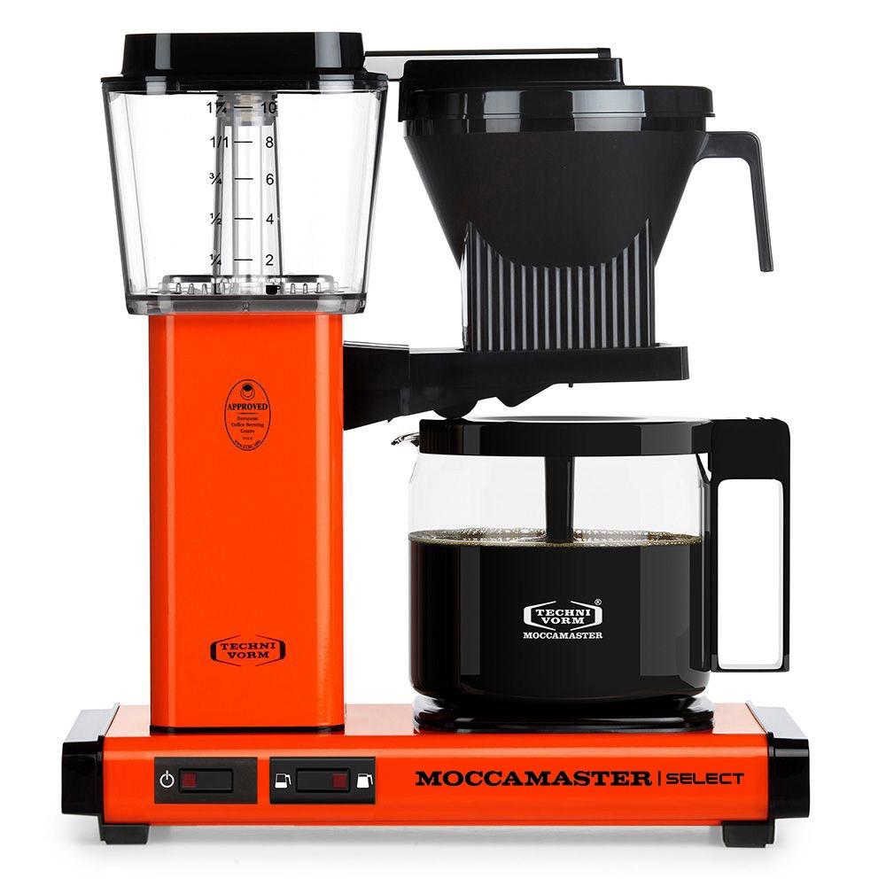 Moccamaster koffiefilter apparaat KBG SELECT oranje