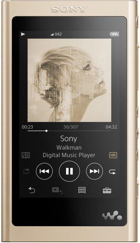 Korting Sony NWA55LN.CEW mp4 speler