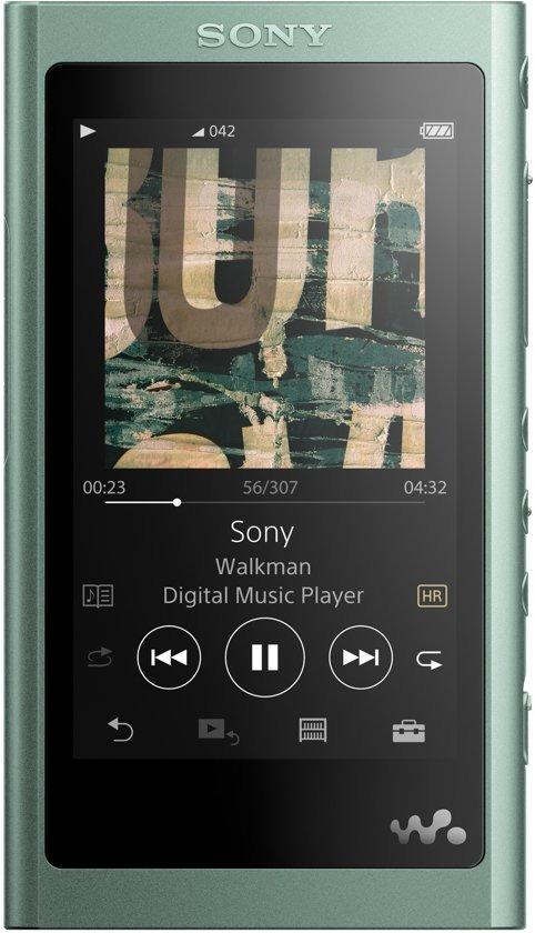 Korting Sony NWA55LG.CEW mp4 speler