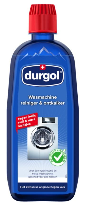 Durgol WASMACHINE ONTKALKER & REINIG Wasmachine accessoire