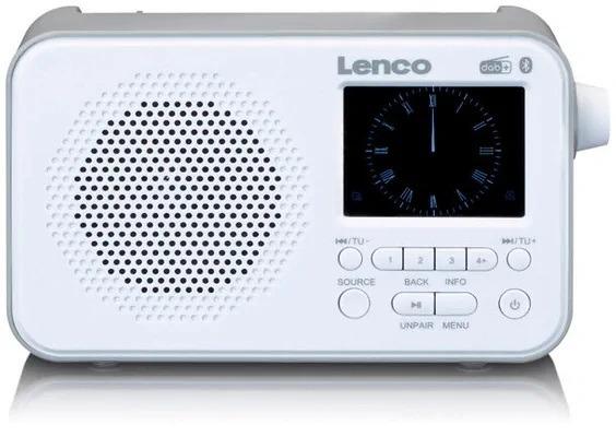 Lenco PDR-035 FM radio Wit