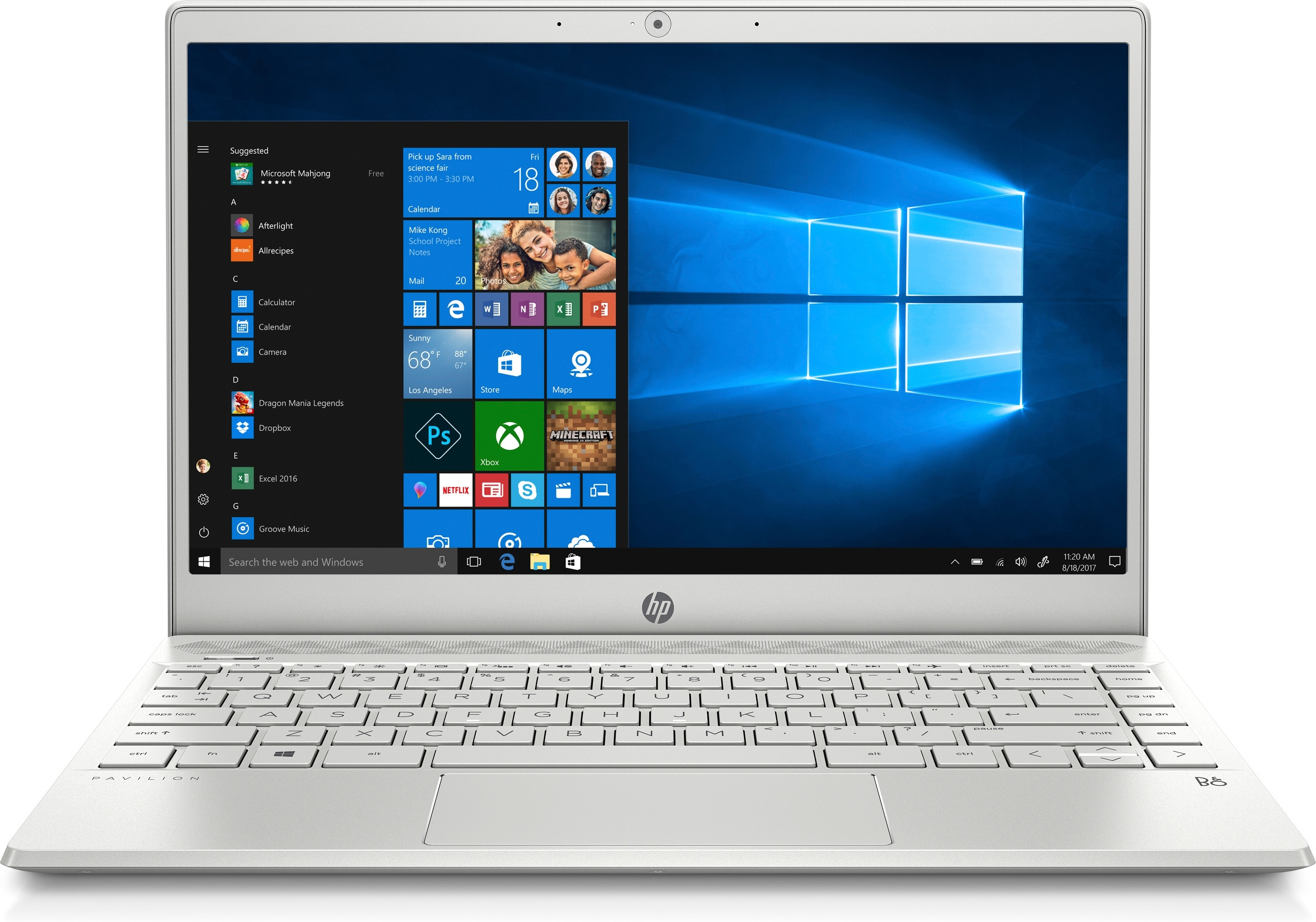 HP laptop Pavilion 13-an1380nd - 8 GB RAM, 256 GB SSD, 13.3 inch
