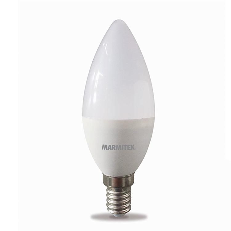 Marmitek GLOW SO - Smart Wi-Fi LED bulb color - E14 | 380 lumen | 4.5 W = 35 W Smartverlichting Wit
