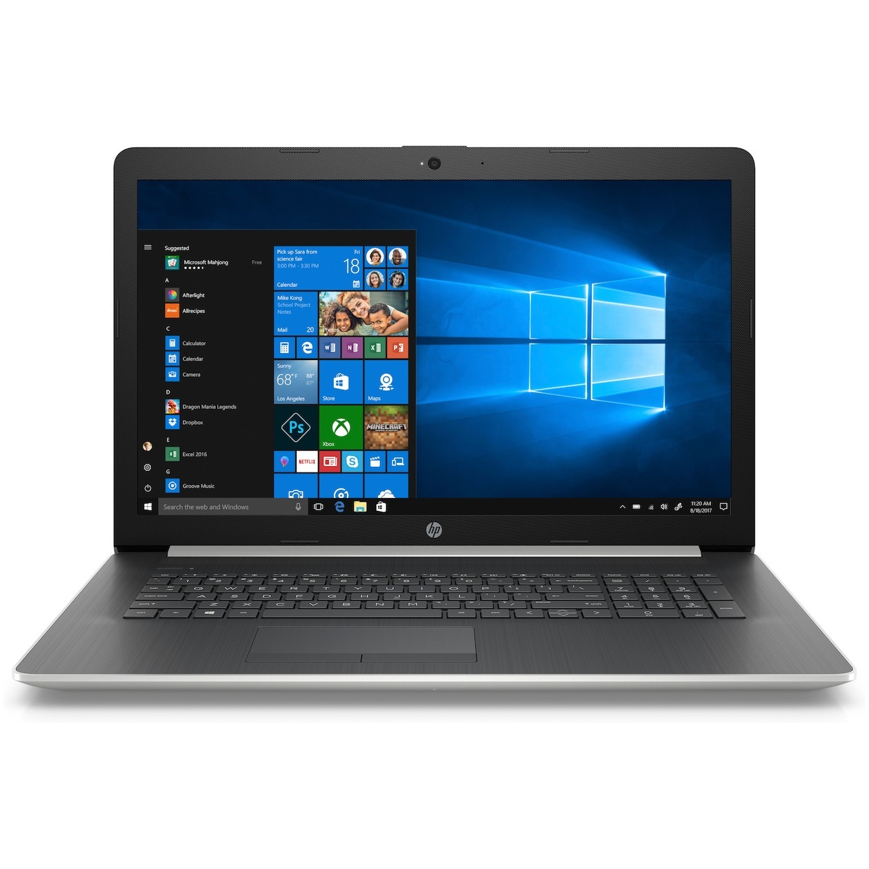 HP 17-by2220nd Laptop - 17 Inch