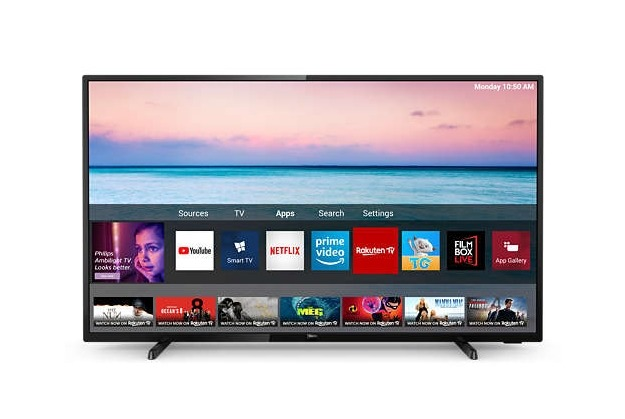 Philips 70PUS6504-12 led-tv (178 cm-70 inch), 4K Ultra HD, smart-tv