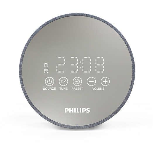 Foto van Philips TADR402/12 Wekker radio