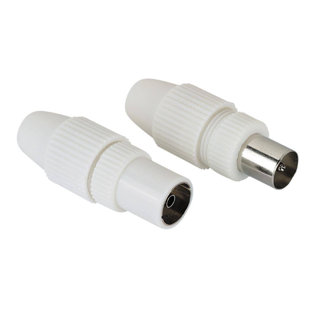 Foto van Hama Coax adapter stekkers mannelijk/vrouwelijk TV accessoire