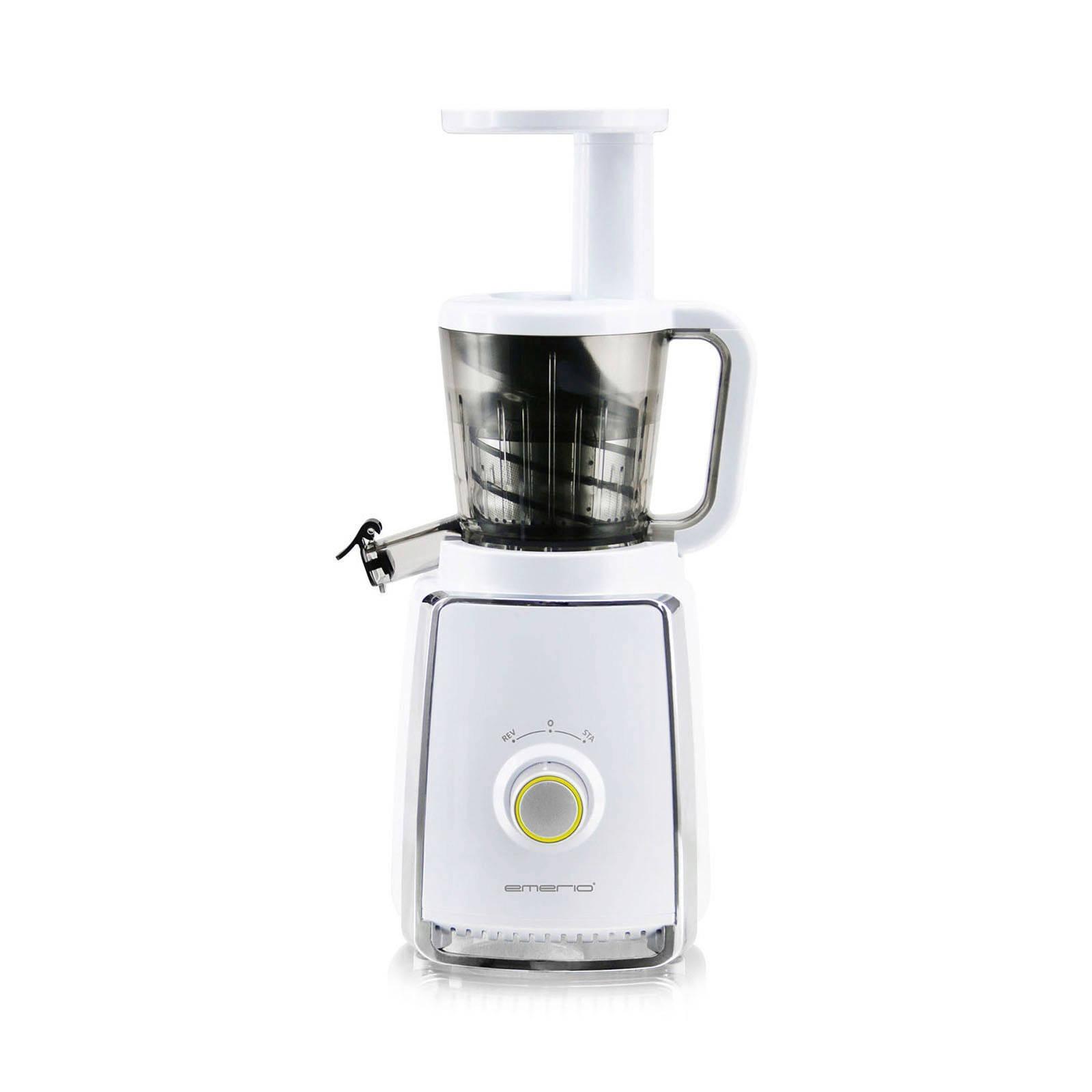 Emerio SJ-110659.1 Slowjuicer 150W Limoen, Wit citruspers/sapmaker online kopen