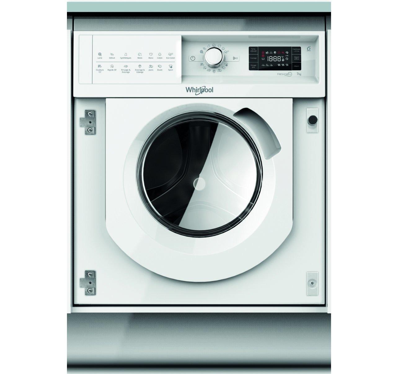 Whirlpool BI WMWG 71484E EU inbouw wasmachine - Prijsvergelijk