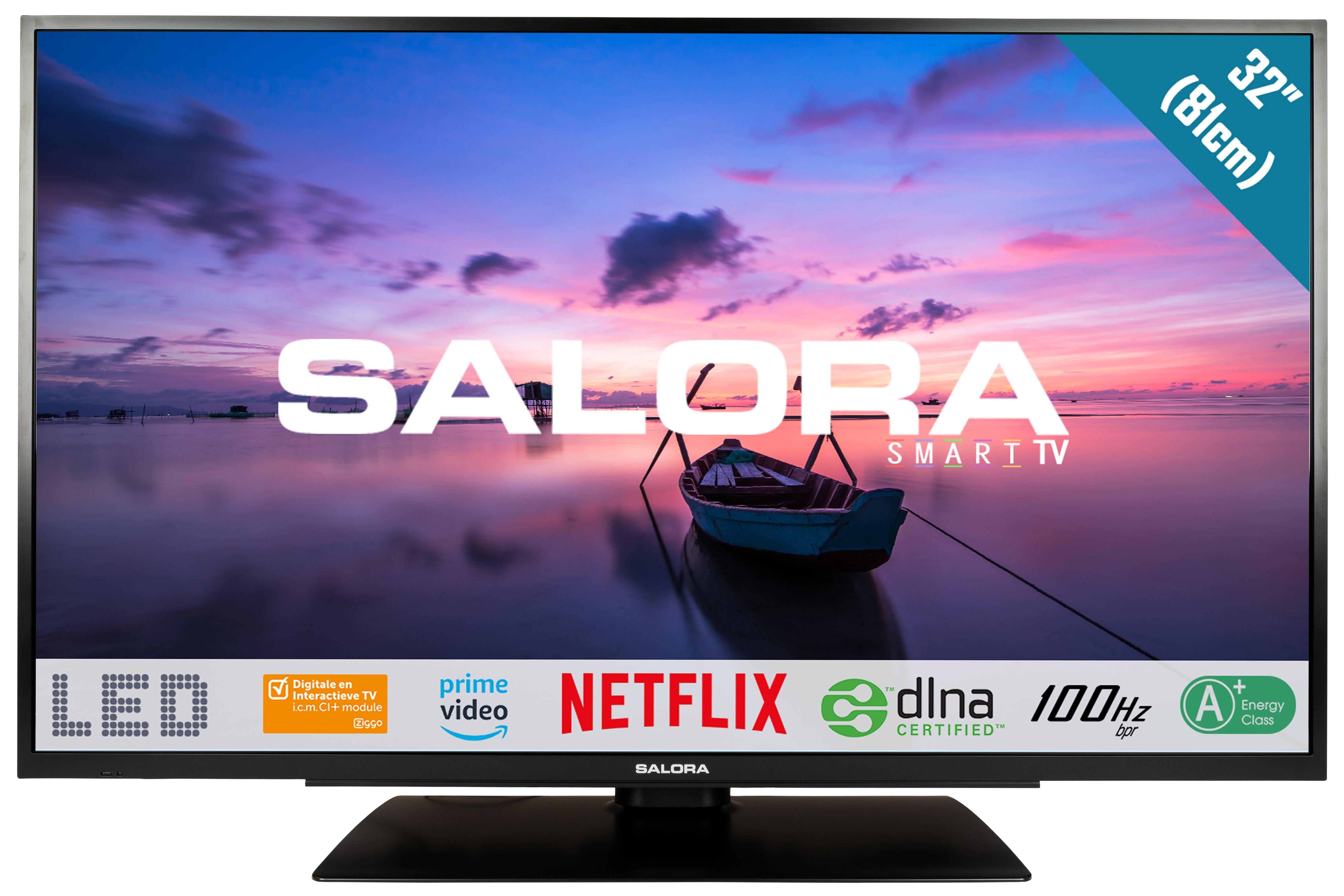 Korting Salora 32HSB6502 LED TV