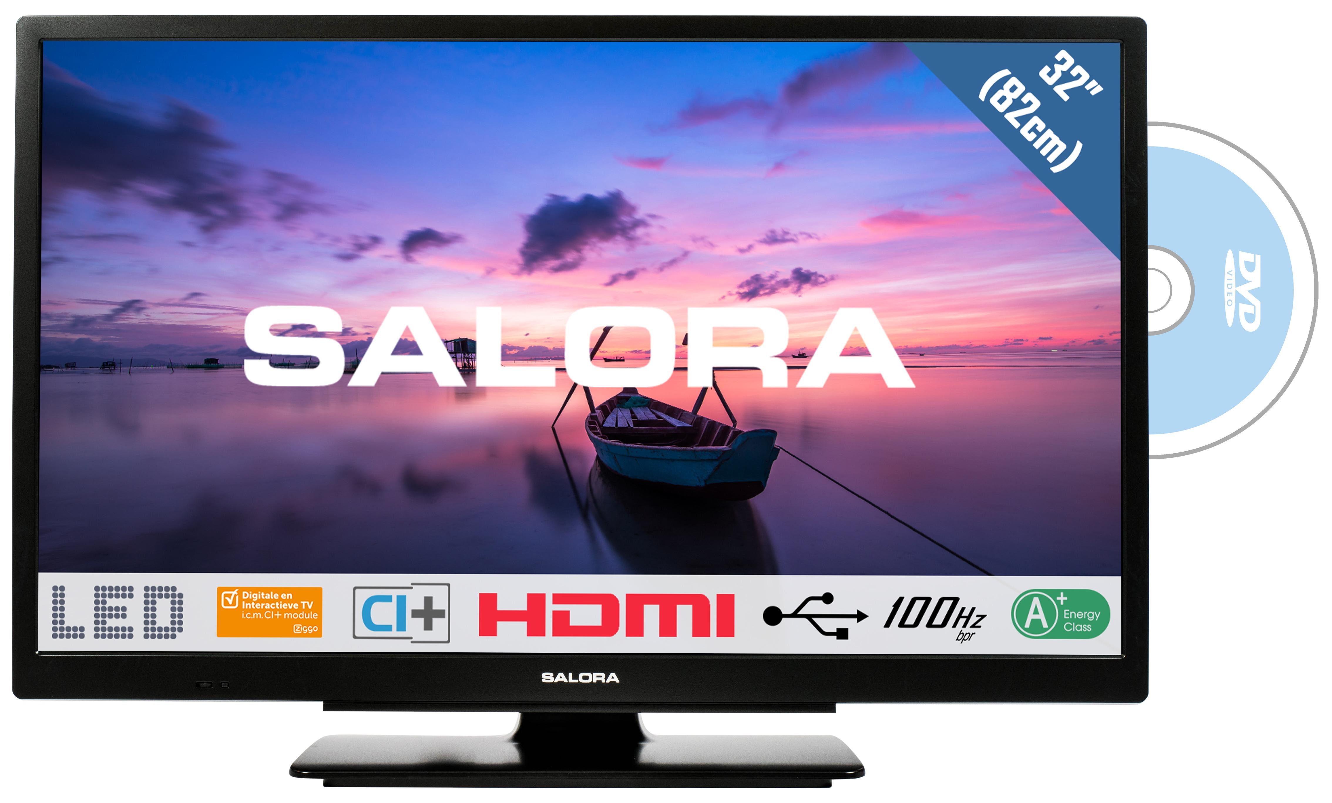 Korting Salora 32HDB6505 LED TV