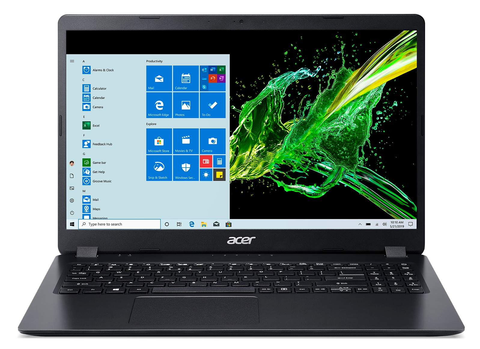 Acer Aspire 3 A315-56-58WY laptop