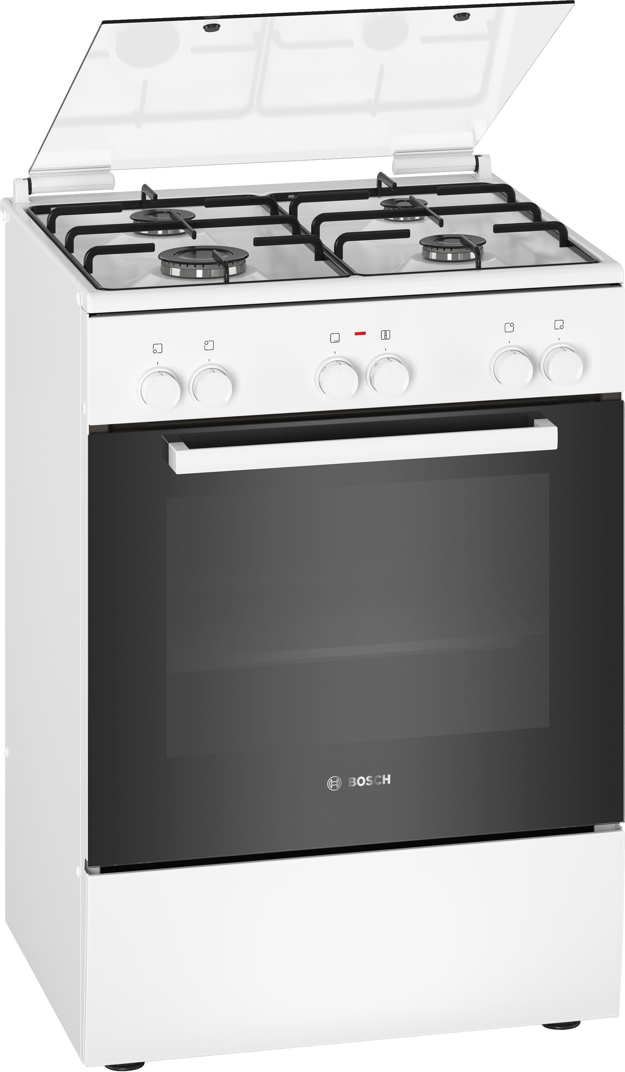 Bosch HXA050D20N Gasfornuis Wit