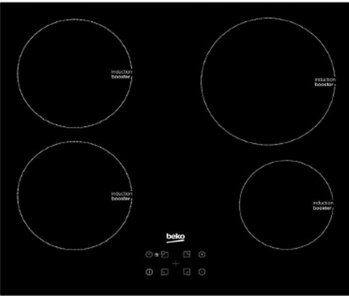 Beko HII64400MT inductie inbouwkookplaat