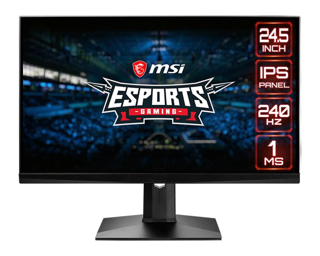 MSI Optix MAG251RX Monitor Zwart