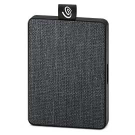 Seagate One Touch Externe SSD harde schijf 500 GB Zwart USB 3.0