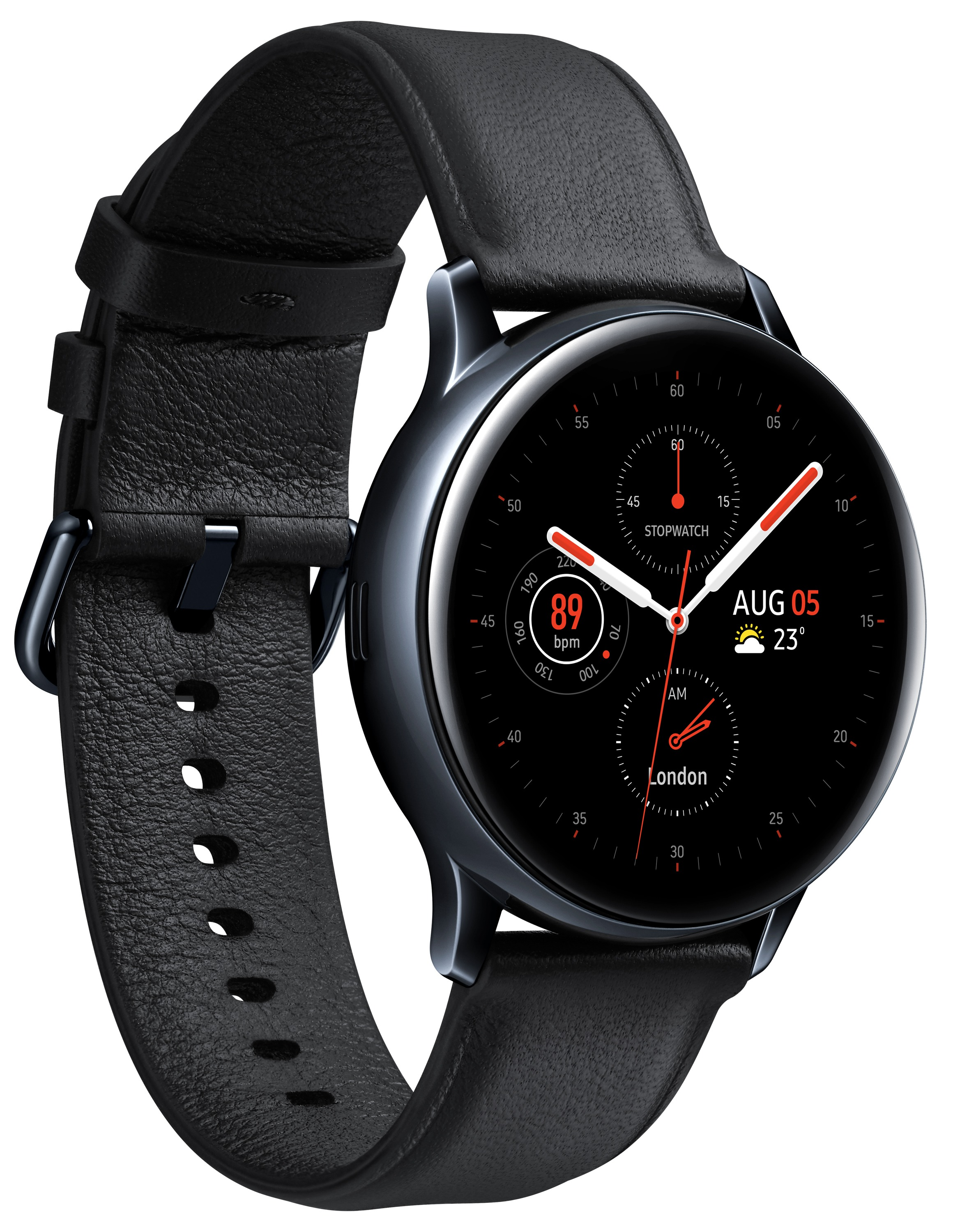 Korting Samsung Galaxy Watch Active 2 40mm RVS smartwatch