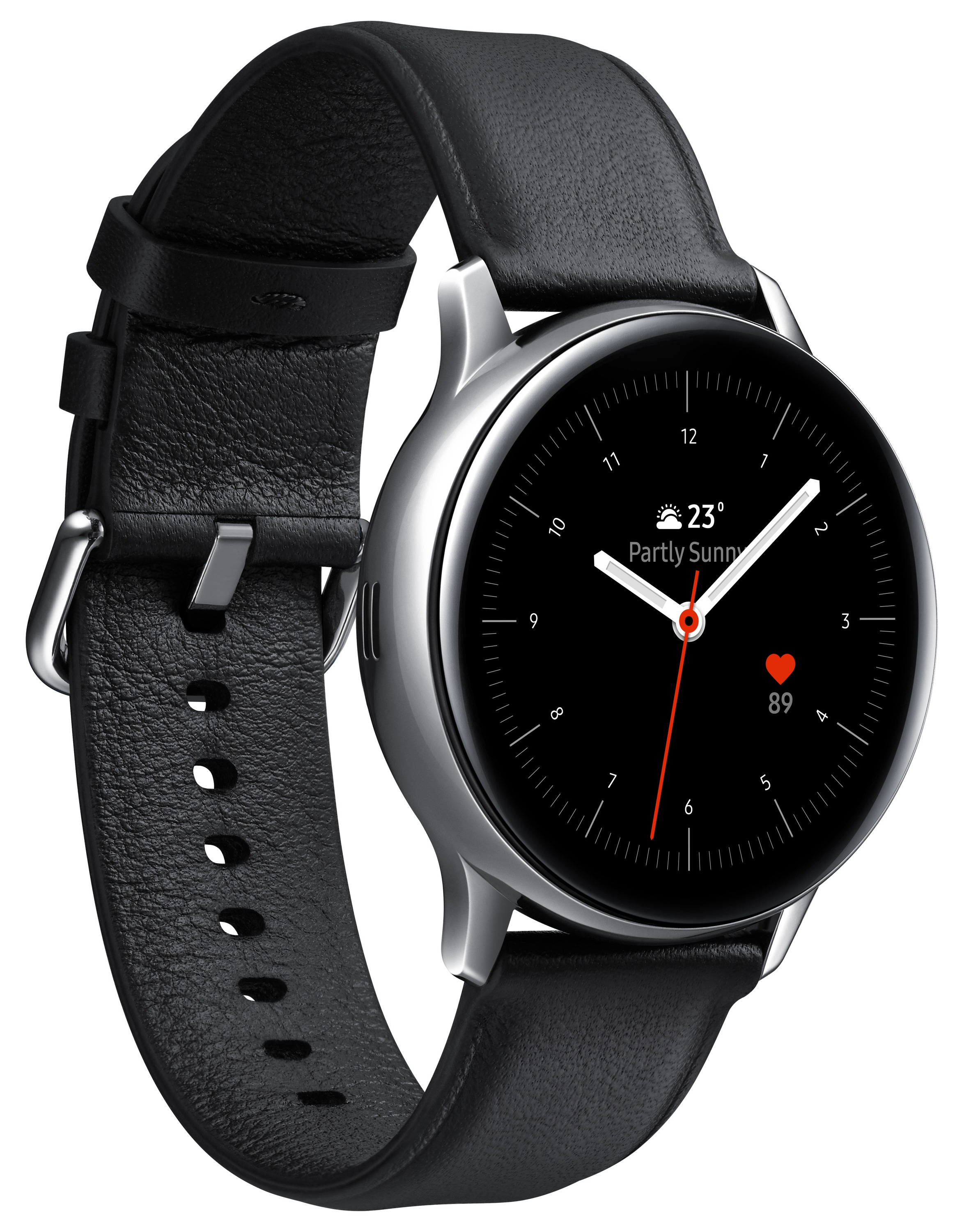Korting Samsung Galaxy Watch Active 2 40mmRVS smartwatch