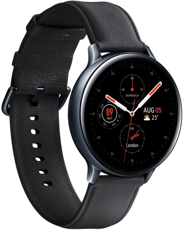 Korting Samsung Galaxy Watch Active 2 44mm RVS smartwatch