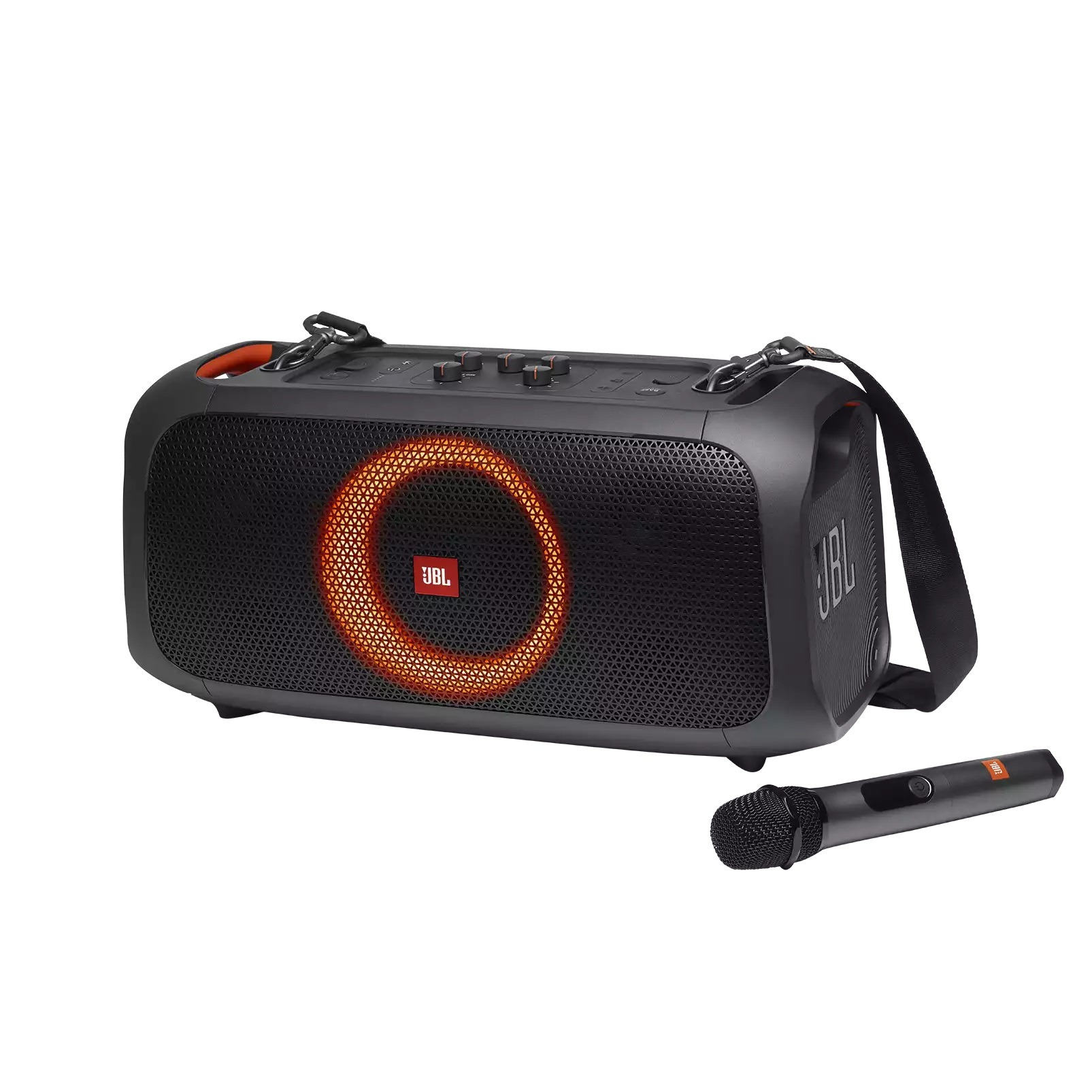 Foto van JBL PARTYBOX ON THE GO Bluetooth speaker
