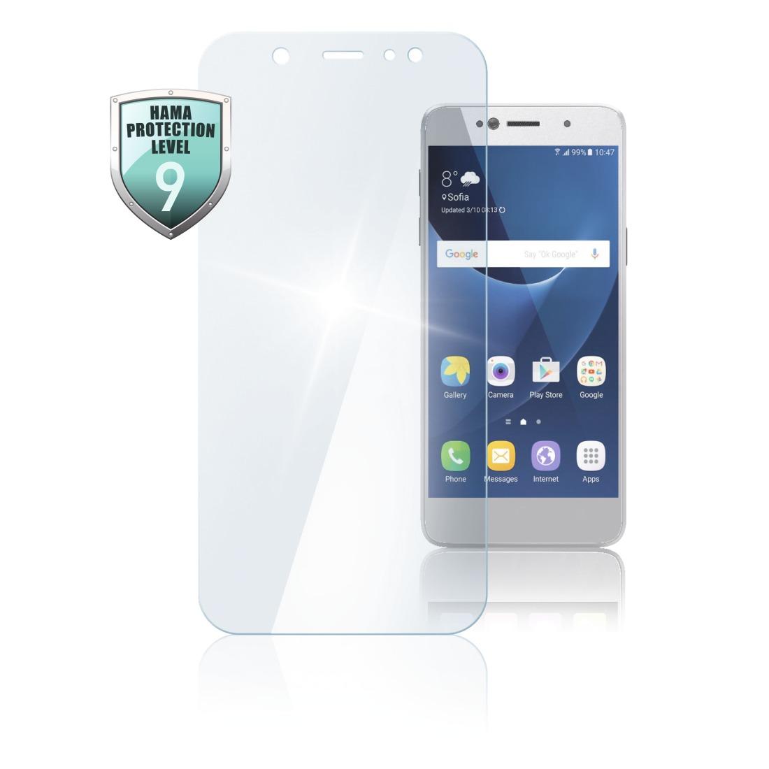Hama SCREEN PROTECT PREM CR GL SAMSUNG A71 Smartphone screenprotector Transparant