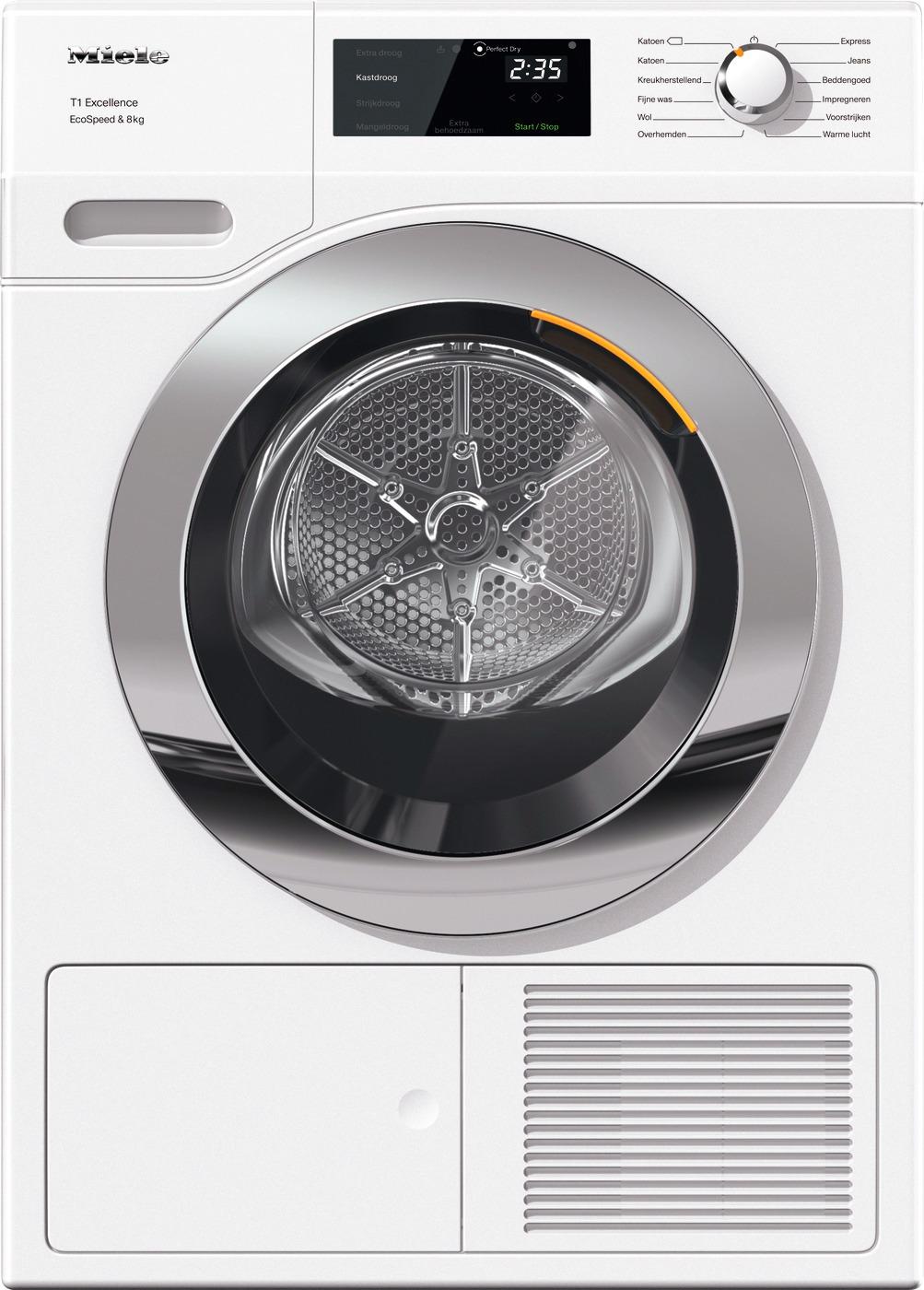 Miele TEF 655 WPT1 Excellence EcoSpeed Warmtepompdroger