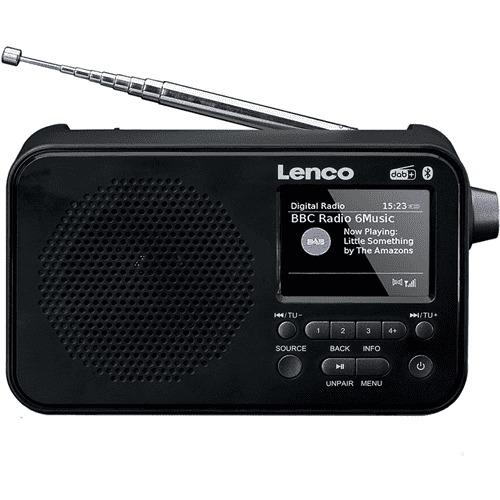 Foto van Lenco PDR-035 DAB radio