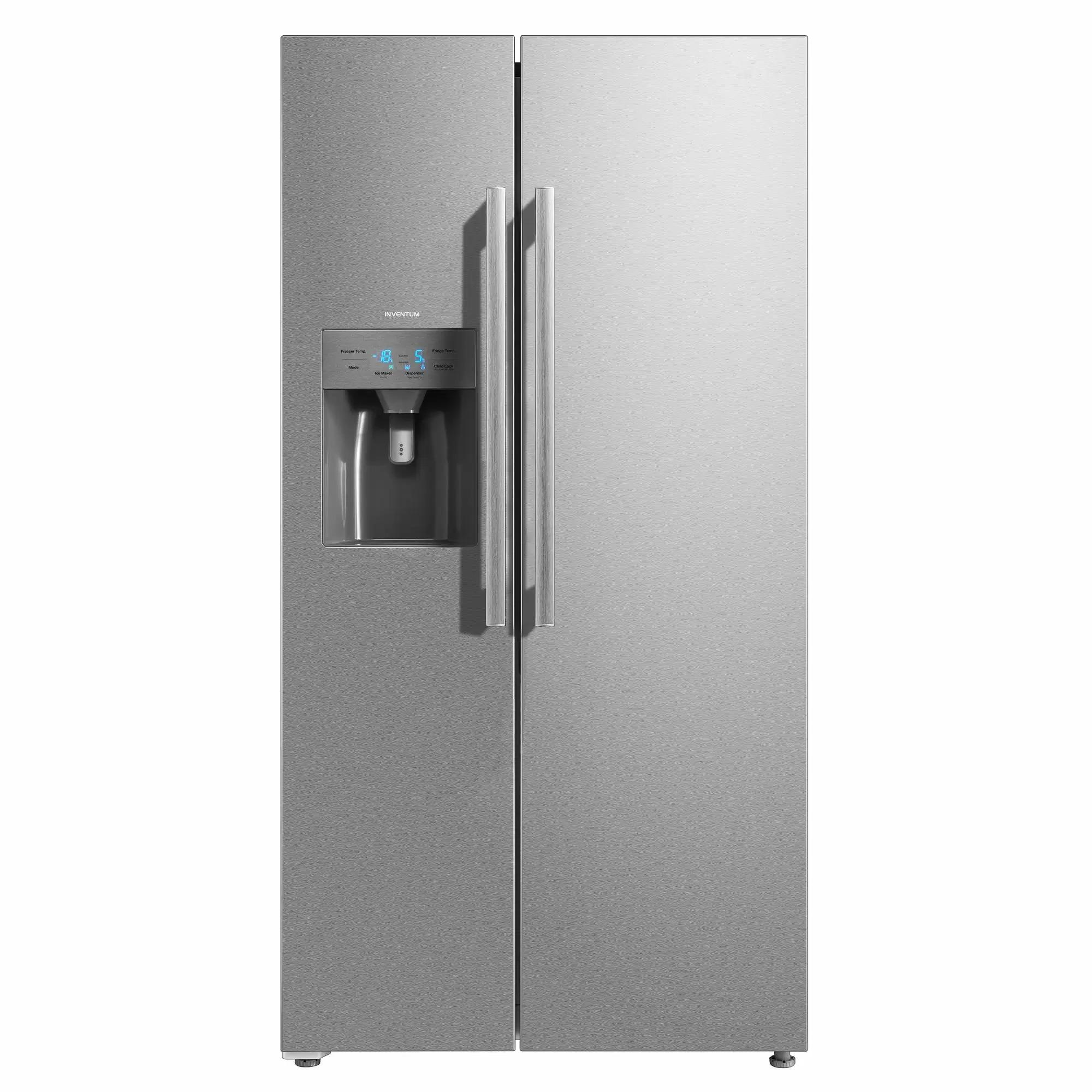Inventum SKV1782RI Amerikaanse koelkast Staal
