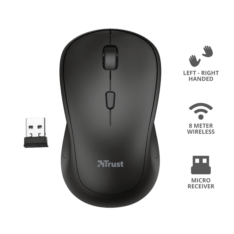 Korting Trust TM 250 WIRELESS MOUSE muis