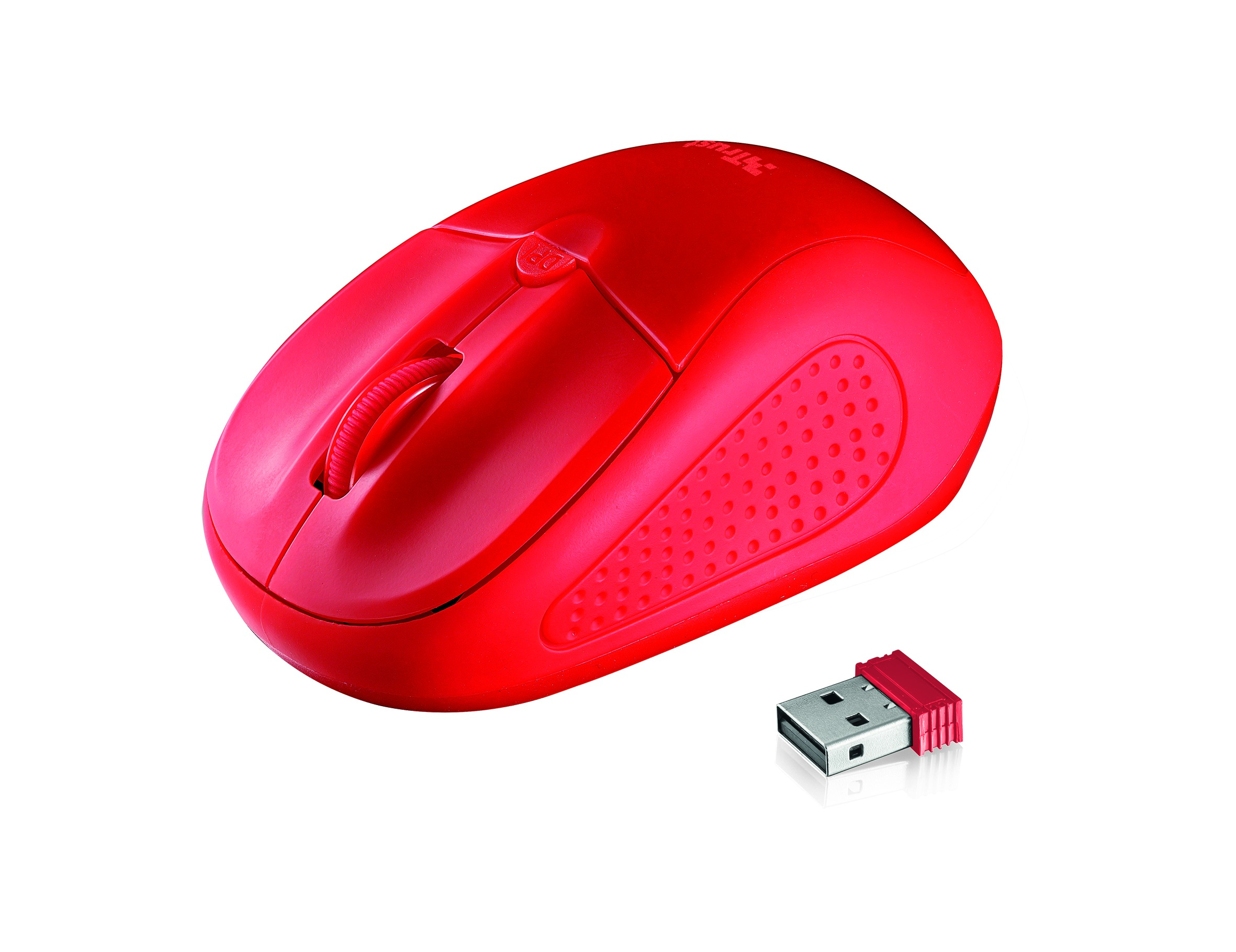Korting Trust Primo Wireless Mouse red Muis