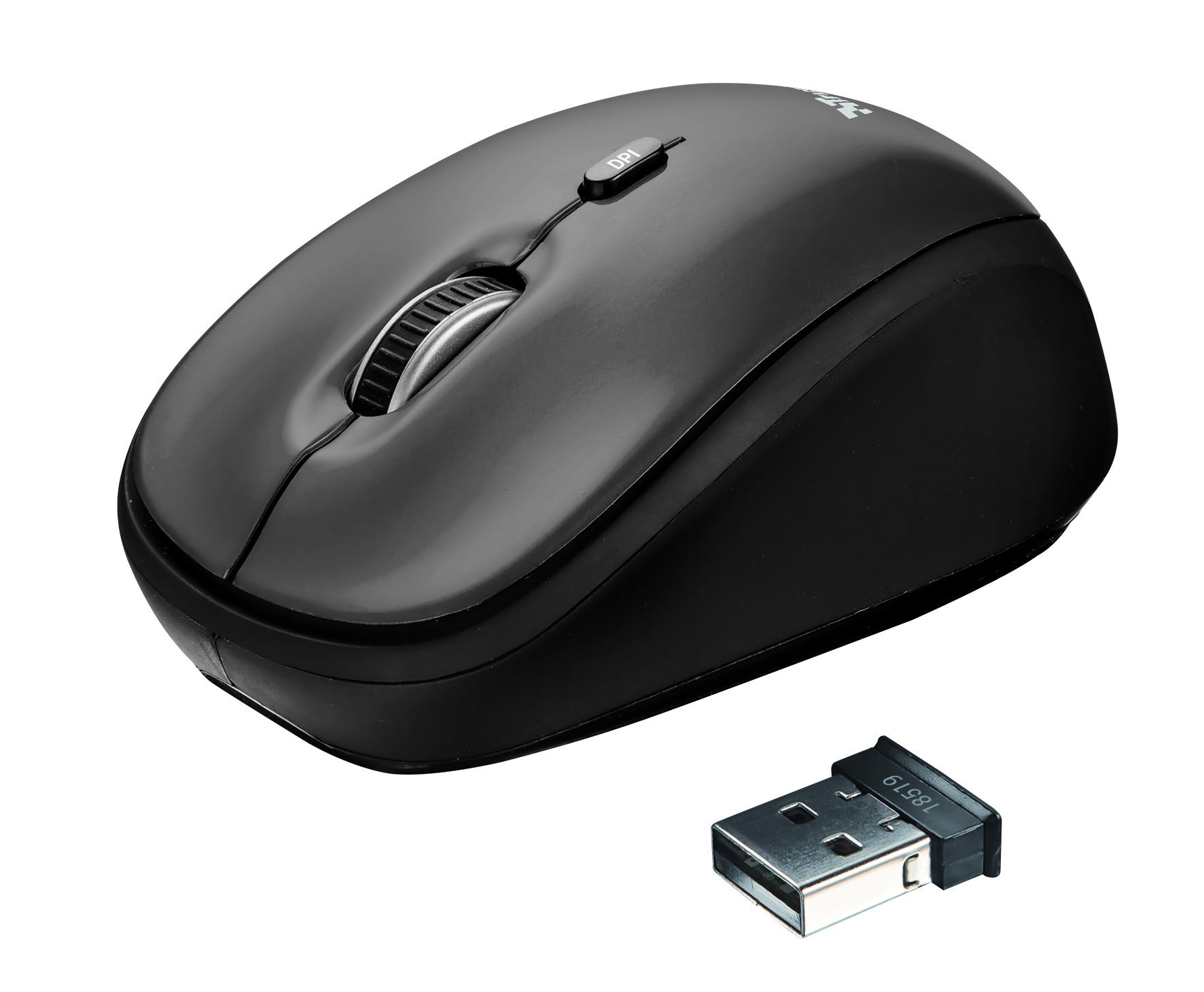 Korting Trust Yvi Wireless Mini Mouse muis